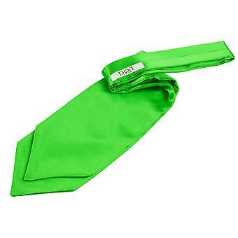 Apple Green Plain Satiini itse Tie häät Cravat