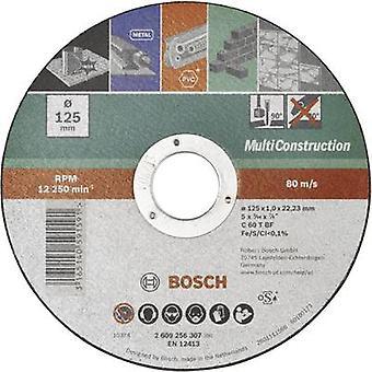 בוש אביזרים ACS 60 V BF 2609256307 הדיסק גזירה (ישר) 125 mm 22.23 mm 1 pc (עם)