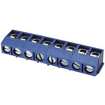 Degson DG301R-5.0-03P-12-00AH Screw terminal 2 mm² Number of pins 3 Blue 1 pc(s)