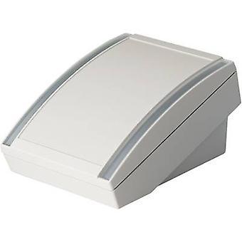 OKW DATEC S skrivbord hölje 180 x 130 x 86 akrylnitril butadien styren grå-vit (RAL 9002) 1 st (S)