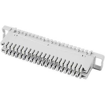 EFB Elektronik 46006.1 LSA-pins serie 2 Terminal strip 2/10, zonder kleur code 10 dubbele laders inhoud: 1 PC('s)