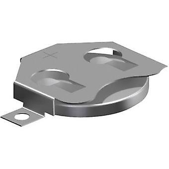 Keystone 3002 Knopfzellenhalter 1x CR2016, CR 2020, CR2025 Horizontal, SMD (L x B x H) 30,73 x 19,86 x 3,96 mm