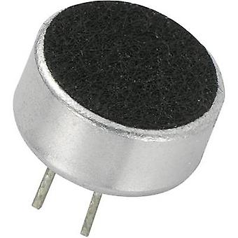 Microphone capsule 4.5 - 10 V DC Frequency range=100 Hz - 10000 Hz KEPO KPCM-G97H45P-43dB-1187