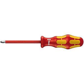 VDE Pillips screwdriver Wera 165 i PZ 2 Blade length: 100 mm DIN ISO 8764-PZ, DIN EN 60900