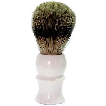 Gold Badger shaving brush Badger plucking plastic handle
