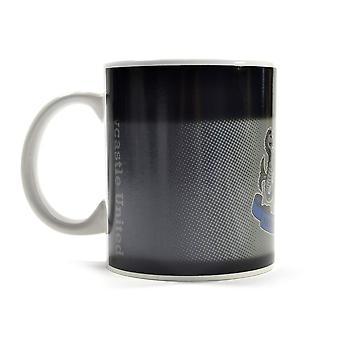 Newcastle United FC Gradient Hitze ändern Mug