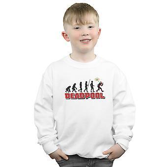 Marvel Boys Deadpool Evolution Sweatshirt