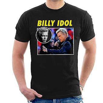 Billy Idol Tribute Montage Men's T-Shirt