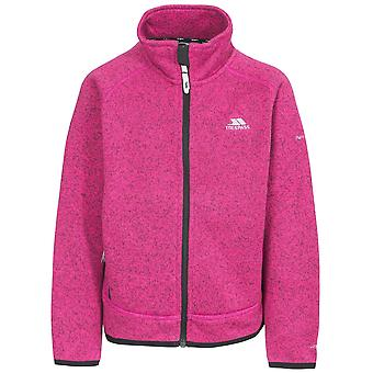 Trespass Childrens Girls Rilla Full Zip Fleece Jacket