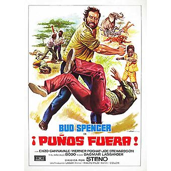 Flatfoot in Africa Movie Poster (11 x 17)