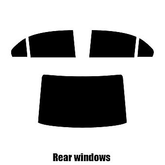 Pre cut fönstret nyans - Chevrolet Epica - 2006 till 2011 - bakre windows