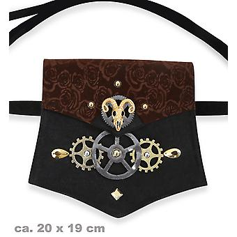 Pocket steampunk keinonahka Steampunktasche