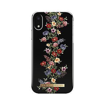 iDeal af Sverige skaller IPhone XR-mørke blomster