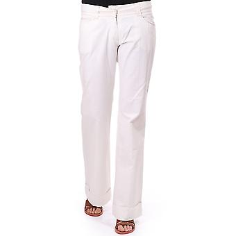Essentiels Wide Leg Trousers With Button
