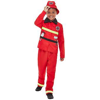 Copii foc Brigada costum carnaval Toddler foc Fighter costum