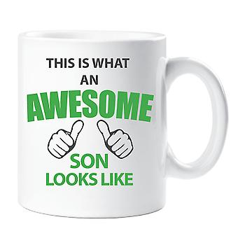 This Is What An Awesome Son Looks Like Mug