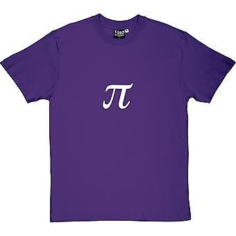 Pi Purple Men's T-Shirt