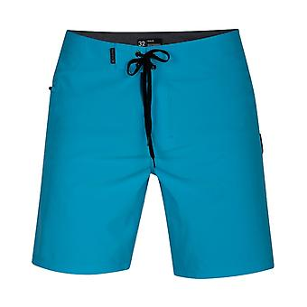 Hurley Phantom One & Only 18' Mid Length Boardshorts in Blue Fury