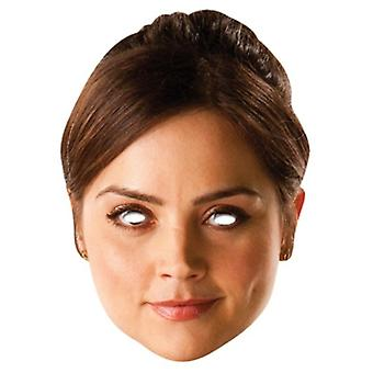 Clara Oswald Party Card Fancy Dress Mask (Doctor Who)