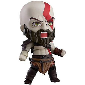 God of Nendoroid Kratos action figure was depressed 100% plastic, in gift packaging.