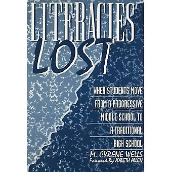 Literacies Lost: When Students Move from a Progressive Middle School to a Traditional High School (Language and...