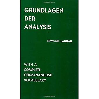 Grundlagen der Analysis: con vocabolario tedesco-inglese completo