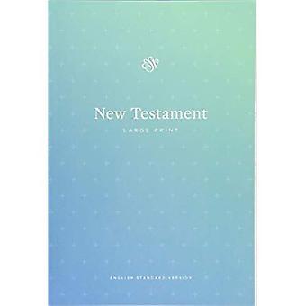 ESV oppsøkende nye testamente, stor skrift