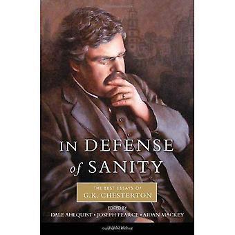 Till försvar för Sanity: de bästa uppsatserna av G.K. Chesterton