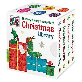 The Very Hungry Caterpillar Weihnachten Bibliothek [Pappband]