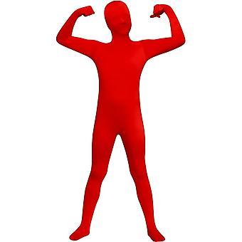 Dítě obleku z červeného vzhledu