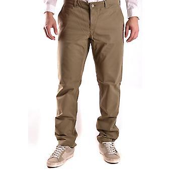 Woolrich Ezbc033007 Men's Green Cotton Pants