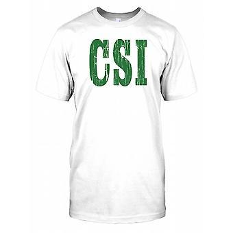 CSI - przestępczości sceny dochodzenia męskie T Shirt