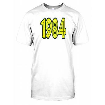 1984 - Geburtstag Jahr Kinder T Shirt