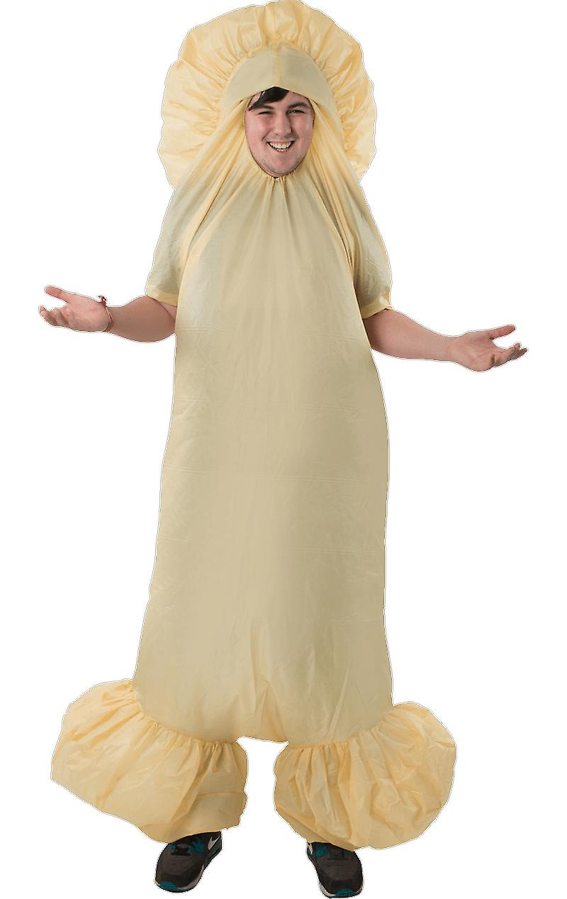 Orion Costumes Mens Inflatable Giant Willy Rude Stag Do Fancy Dress Costume