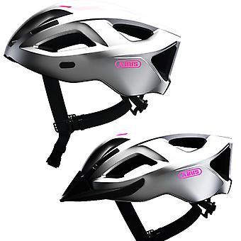 Abus Aduro 2.1 bike helmet / / gleam silver