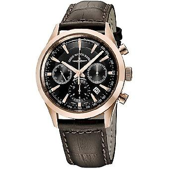 Zeno-watch mens watch gentiluomo automatico Chrono 7753 6662-7753-PGR-f1