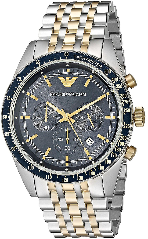 Emporio Armani Ar8030 Multicolor Stainless-steel Men's Watch