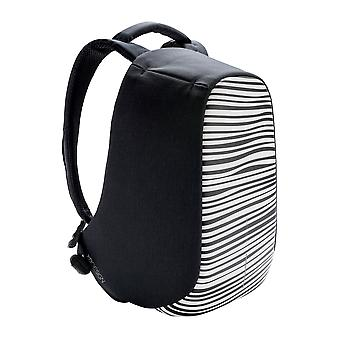 XD Design Bobby compact print anti theft laptop backpack with USB (unisex)