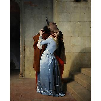 The Kiss,Francesco Hayez,50x40cm