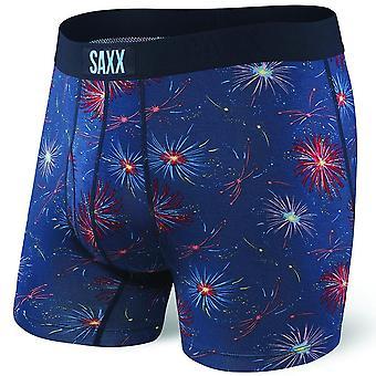 SAXX Ultra Fireworks Boxer Brief, Navy