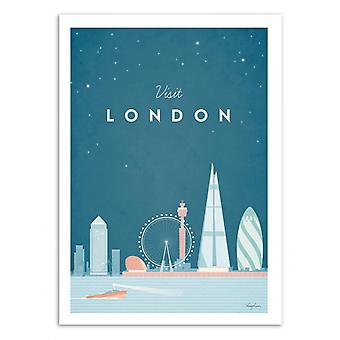 Art-Poster - Visit London - Henry Rivers
