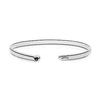 Houston Astros Engraved Sterling Silver Sapphire Cuff Bracelet