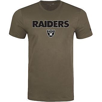 عصر جديد كومة شعار قميص -- اتحاد كرة القدم الأميركي لاس فيغاس غزاة جيش الزيتون