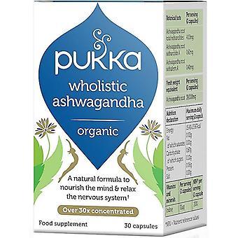 Pukka Wholistic Ashwagandha Capsules 30