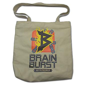 Tote Bag - Accel World - New Brain Burst Icon Toys Anime Licensed ge11514