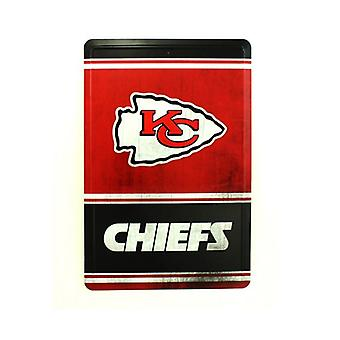 Kansas City Chiefs NFL Team Logo typ tenn tecken