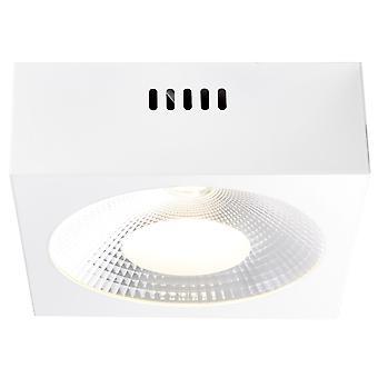 Brilliant lamp Babett LED construction lamp 20x20cm white