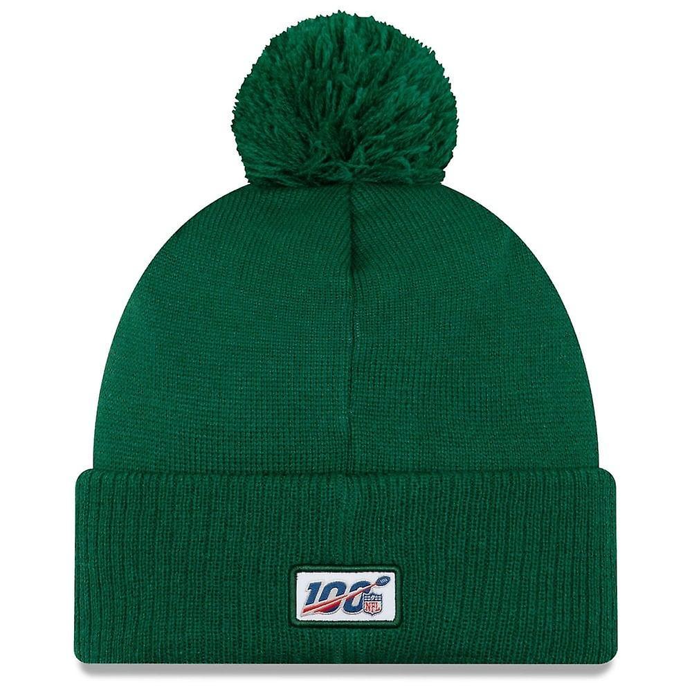 New Era Nfl New York Jets 2019 Sideline Road Sport Knit