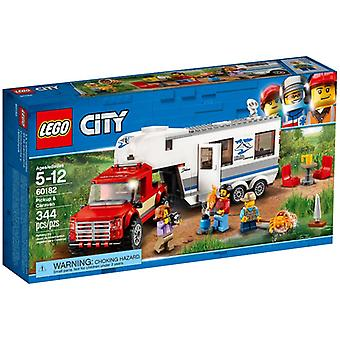 LEGO 60182 pick-up truck and caravan