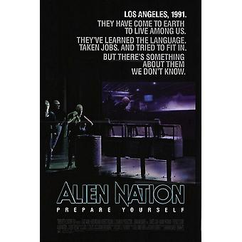 Alien Nation (1988) poster cinema original